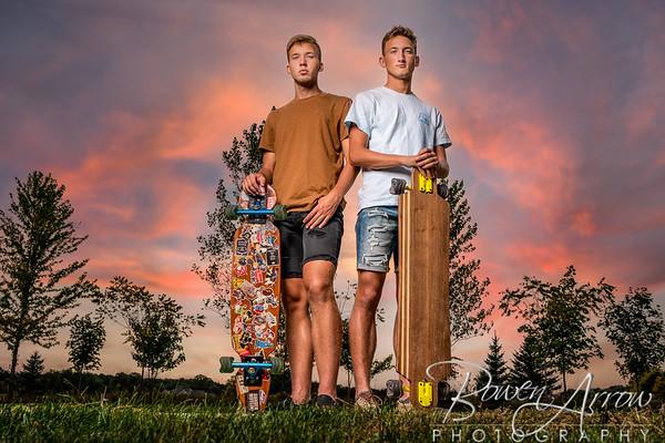 Jacksyn and Jayden Nafziger 2021