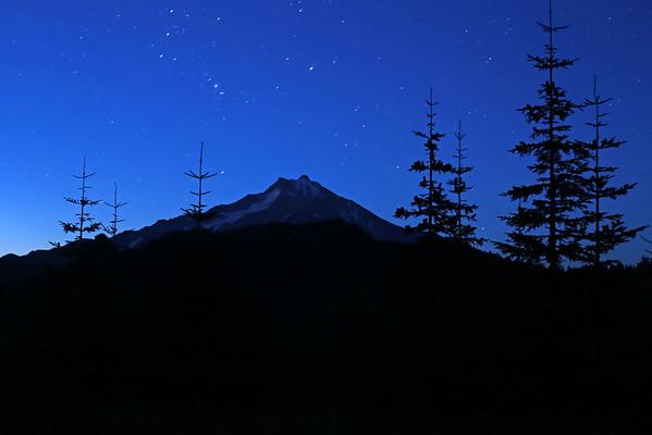 Mt Jefferson Star Shoot
