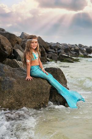 Riley the Mermaid