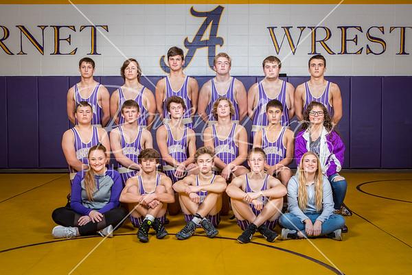 Wrestling Team 2018