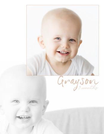 Grayson 9 Months