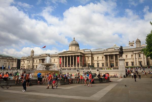 London: Soho, Trafalgar Square and Picadilly Circus