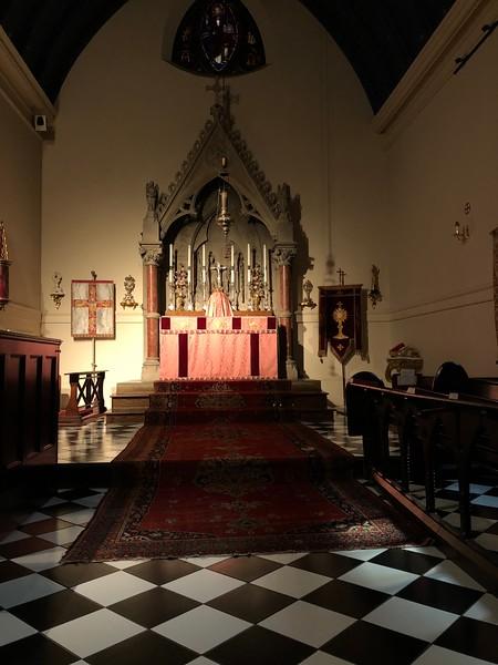 High Altar Lent IV