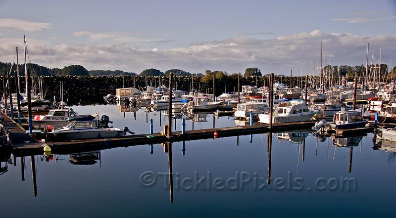 Crescent Harbor Marina, Sitka