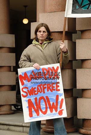 Portland says NO! to Sweat-shops, Feb. 19, 2007