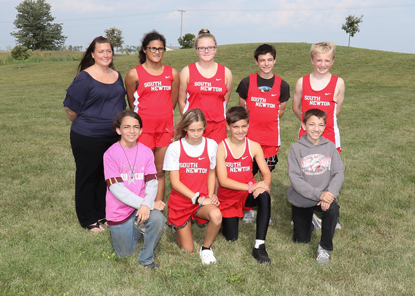 SN MS Cross Country Team 2019