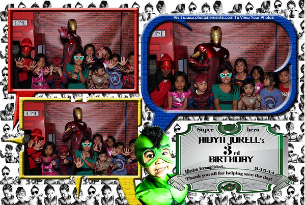 Aidyn's Superhero Birthday Party