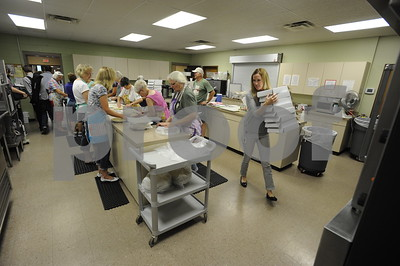9/1/15 Trinity Lutheran Church Pie Ladies by Andrew D. Brosig