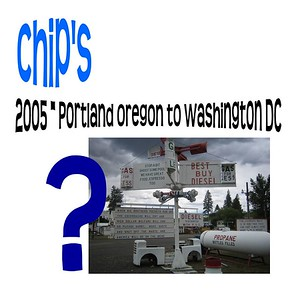 Walter Northrup IV - 2005 -  Portland Oregon to Washington DC