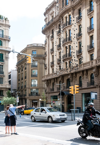 Barcelona: Here's looking at you. The Ohla Hotel, aka Eyeball House