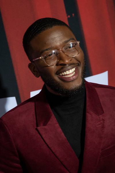 """LOS ANGELES, CALIFORNIA - OCTOBER 29: Zackary Momoh attends the premiere of Warner Bros Pictures' """"Doctor Sleep"""" at Westwood Regency Theater on Tuesday October 29, 2019 in Los Angeles, California. (Photo by Tom Sorensen/Moovieboy Pictures,)"""