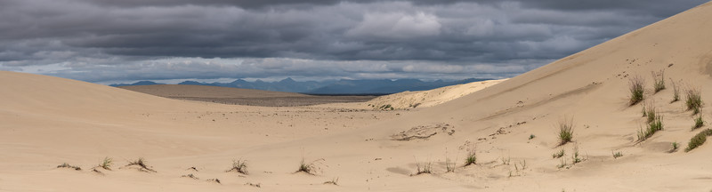 Brooks Range across the Kobuk Natioanal PArk Dunes