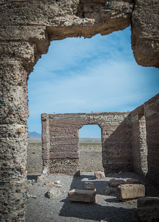 Ashford Mill Ruins- Death Valley, CA