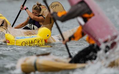 Paddlefest Cardboard Boat Races
