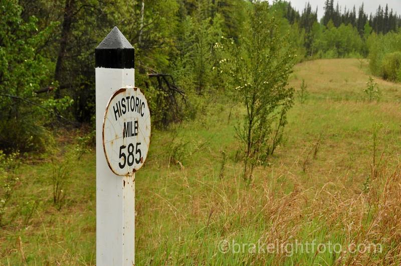 Yukon BC Border