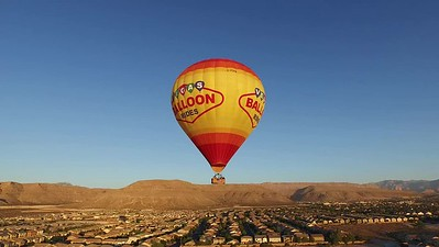 Hot Air Balloons over Vegas