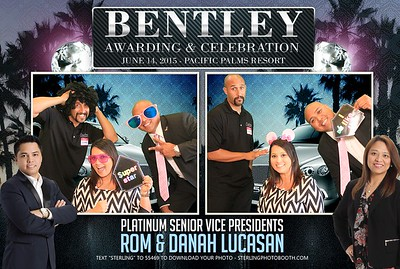 Rom & Danah's Bentley Awarding