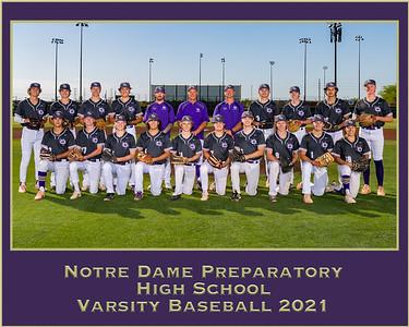 2021 Baseball TEAM & Group Photos