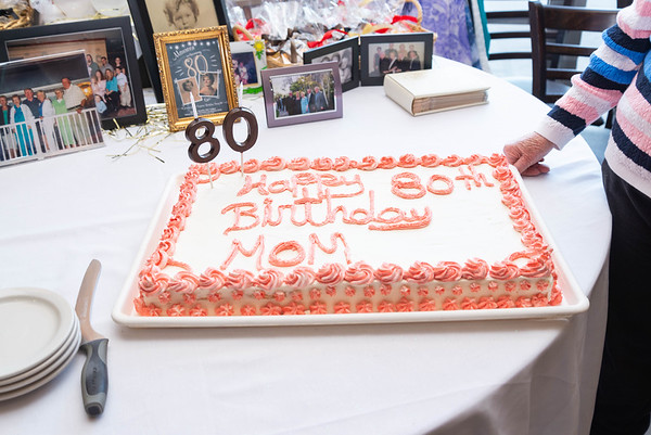Maureen 80th Surprise Party