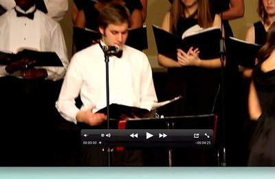 Christmas Choir Performance 2010
