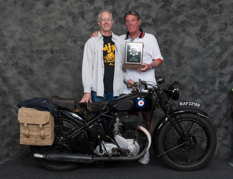 Mark Frost, Winner of Military 1900-1983, Production Class - 1942 BSA WM20