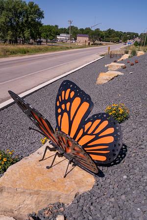 Sac City Sculpture entrance