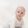 Beautiful Baby Boy in White