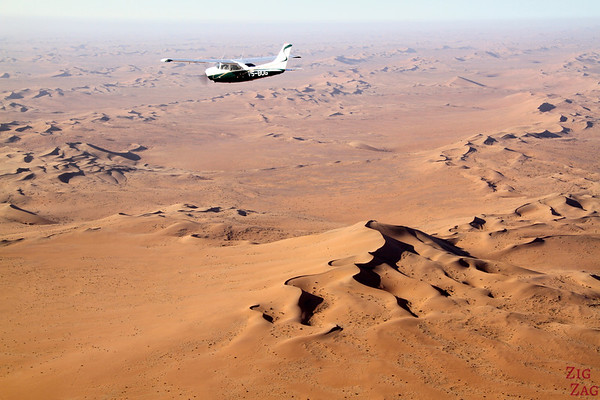 Flying over Sossusvlei sand dunes, Namibia photo 5