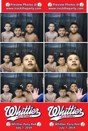 Whittier Pony All Stars 8U - Photo Booth Pictures