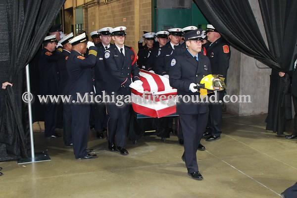 9/16/15 - Lansing Fire Department Firefighter Dennis Rodeman Funeral