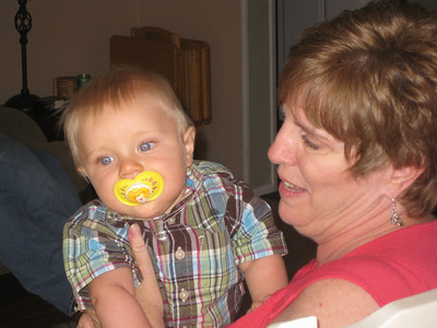 Ryan with Grandma Gayle (6 months)