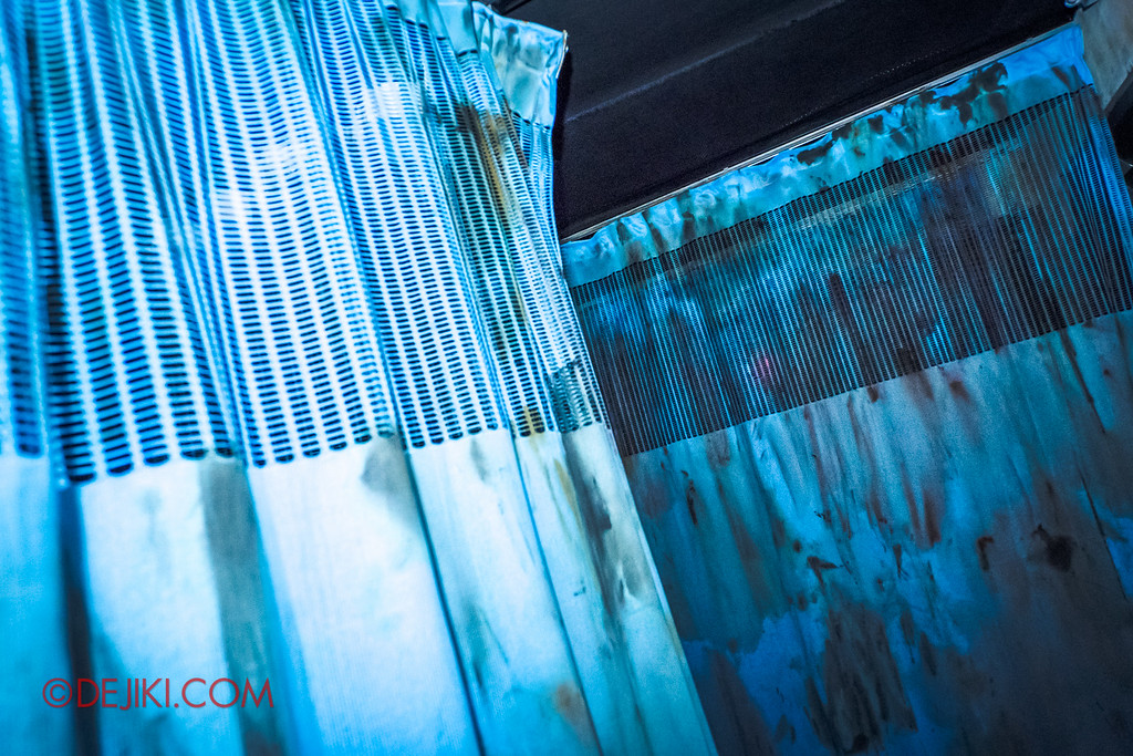 Halloween Horror Nights 6 - Old Changi Hospital / Curtains