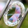 2.32ct Flat Oval Shape Diamond GIA J SI1 1