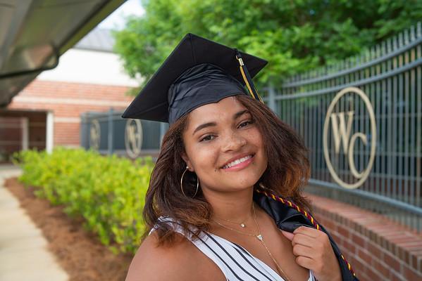 WCHS Senior 2020 - Keryngton riner
