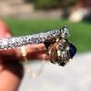 4.50ctw Sapphire and Diamond Serpent Bangle 15