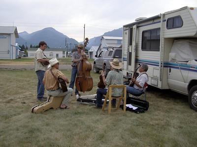 Bitterroot Bluegrass Festival 2007 - Friday night