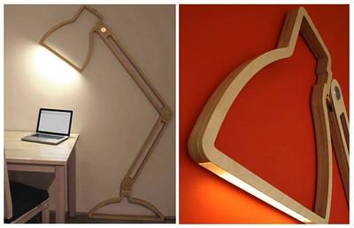 """Flat wall lamps"" by - Giles Godwin-Brown"