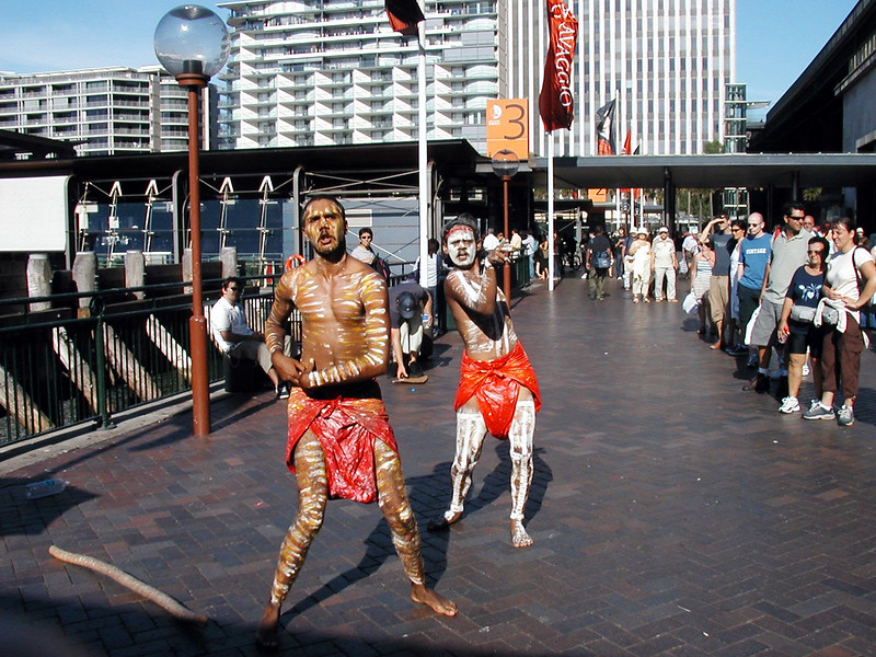 Aboriginals at Circular Quay