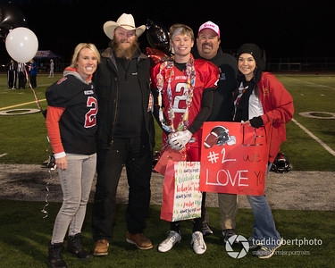 Orting Football Sr Night 2017