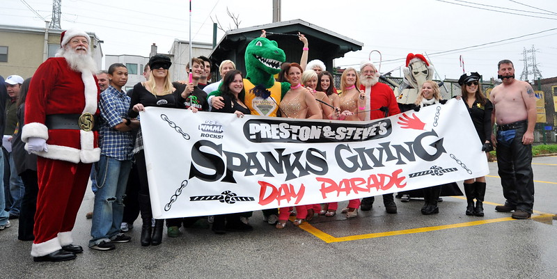 THE WMMR 2009 SPANKSGIVING DAY PARADE