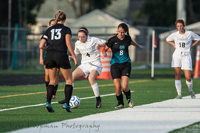 2016 PHS Girls Soccer vs North Oldham