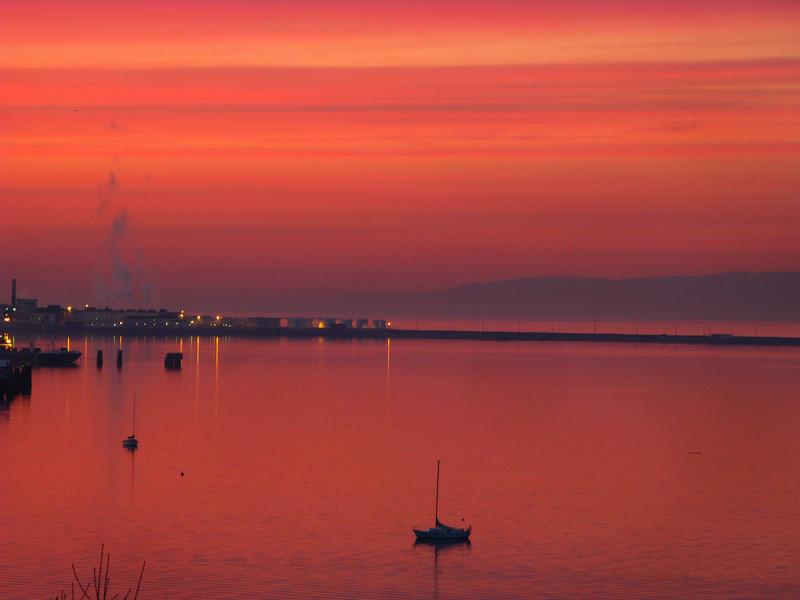 Port Angeles harbor 2-4-09