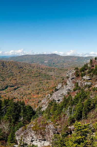 Grandfather Mountain in Linville, North Carolina