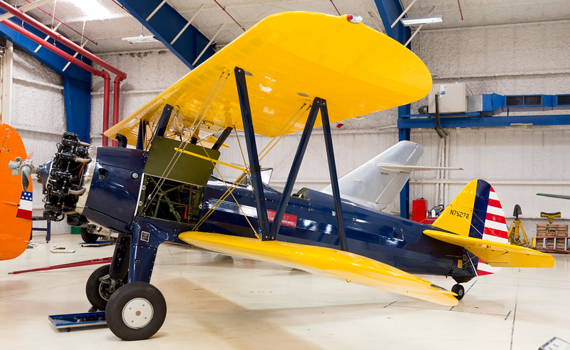 Primary trainer, Boeing-Stearman PT-17 ...