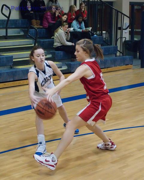2011-01-14 Lady's JV And Varsity Basketball