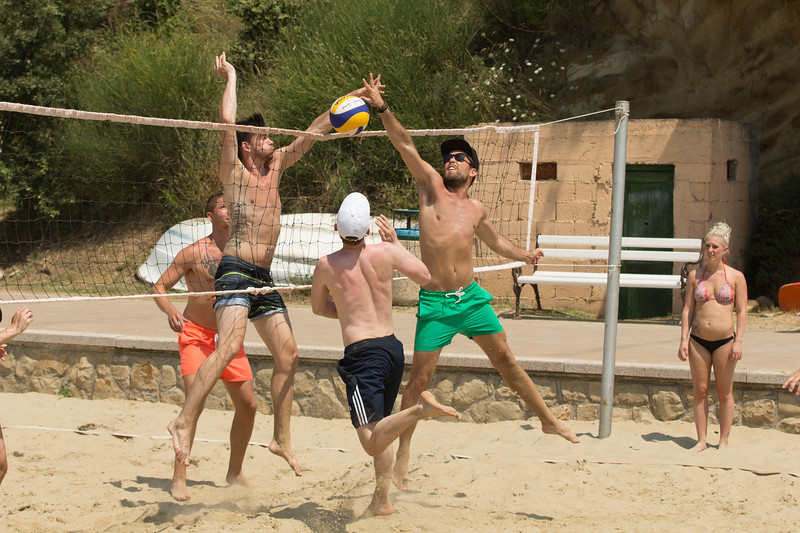 Dansresan 2016 till Rab, Kroatien (Volleyboll)