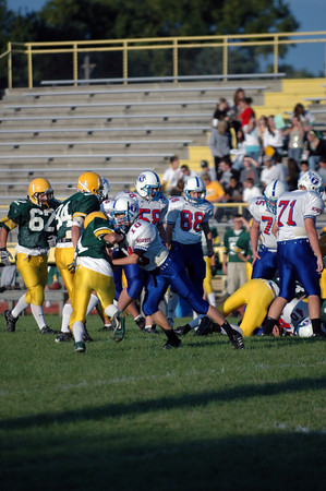 9th Grade FB vs Pius X 9/9/08