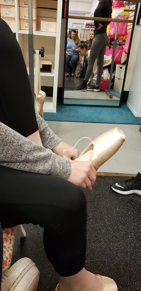 Pointe Shoe Fittings