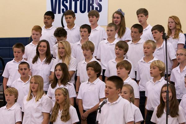 2012-04-05 Honor Choir Performance