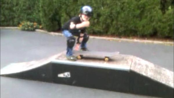 Aidan Skatebaording